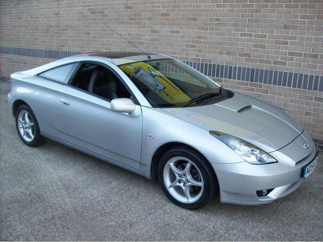 used silver toyota celica 2004 petrol 1 8 vvti 3dr coupe excellent condition for sale autopazar. Black Bedroom Furniture Sets. Home Design Ideas