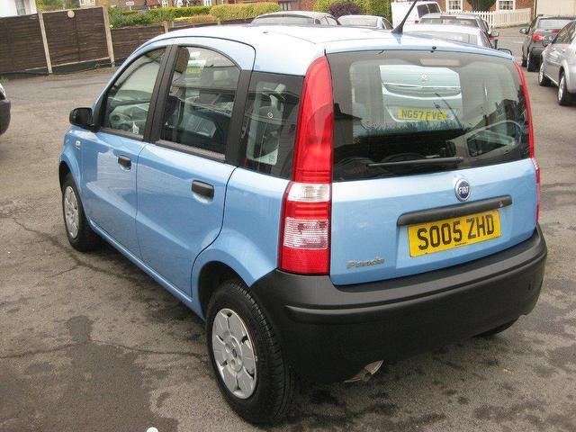 used fiat panda 2005 blue colour petrol 1 1 active 5 door hatchback for sale in sittingbourne uk. Black Bedroom Furniture Sets. Home Design Ideas