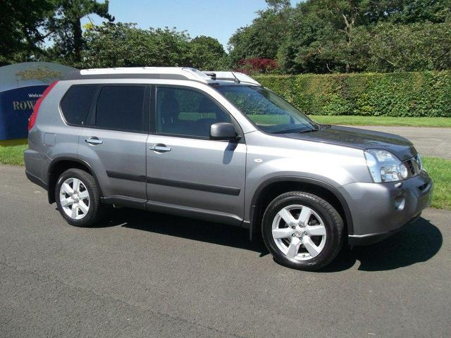 used nissan x trail car 2007 grey diesel 2 0 dci 173 aventura 4x4 for sale in newmarket uk. Black Bedroom Furniture Sets. Home Design Ideas