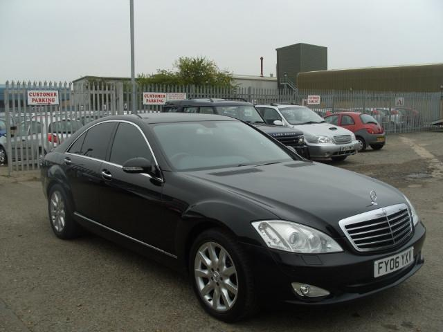 used mercedes benz 2006 model class s320 cdi 4dr diesel saloon black for sale in fengate uk. Black Bedroom Furniture Sets. Home Design Ideas