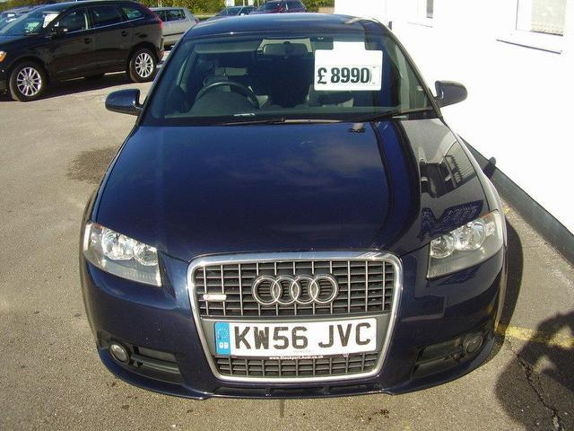 used 2007 audi a3 hatchback 2 0 tdi 170 s diesel for sale in wirral uk autopazar. Black Bedroom Furniture Sets. Home Design Ideas