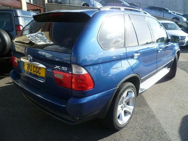 used 2002 bmw x5 4x4 blue edition sport 5dr auto diesel for sale in penzance uk autopazar. Black Bedroom Furniture Sets. Home Design Ideas