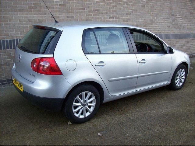 used volkswagen golf 2007 petrol 1 6 match fsi 5dr hatchback silver edition for sale in norwich. Black Bedroom Furniture Sets. Home Design Ideas