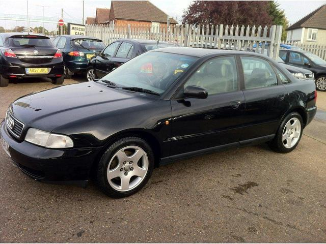 Used Audi A4 2003 Black Saloon Petrol Manual for Sale