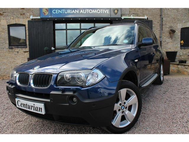 used bmw x3 2005 diesel sport 5dr full 4x4 blue edition for sale in kettering uk autopazar. Black Bedroom Furniture Sets. Home Design Ideas