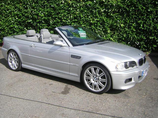 used bmw m3 2004 petrol 2dr full service convertible silver edition for sale in southampton uk. Black Bedroom Furniture Sets. Home Design Ideas