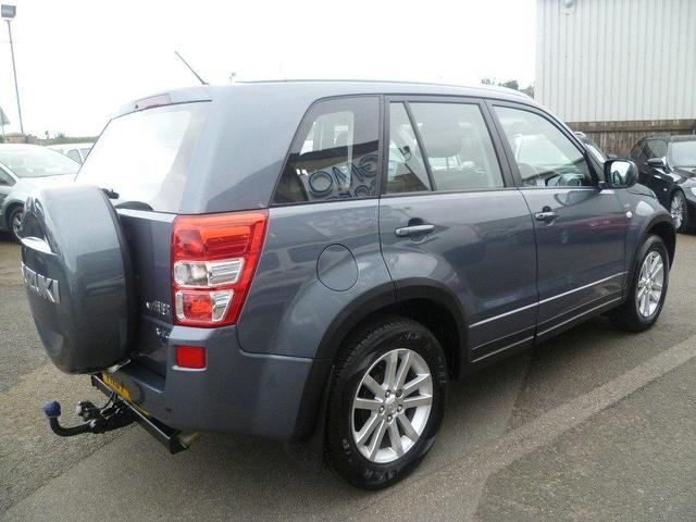used grey suzuki grand 2007 diesel vitara 1 9 ddis x ec. Black Bedroom Furniture Sets. Home Design Ideas
