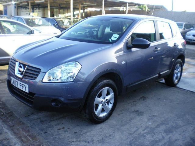 used nissan qashqai 2008 grey paint diesel 1 5 dci visia. Black Bedroom Furniture Sets. Home Design Ideas