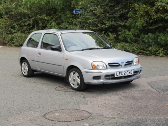 used nissan micra 2002 petrol silver edition for sale in. Black Bedroom Furniture Sets. Home Design Ideas