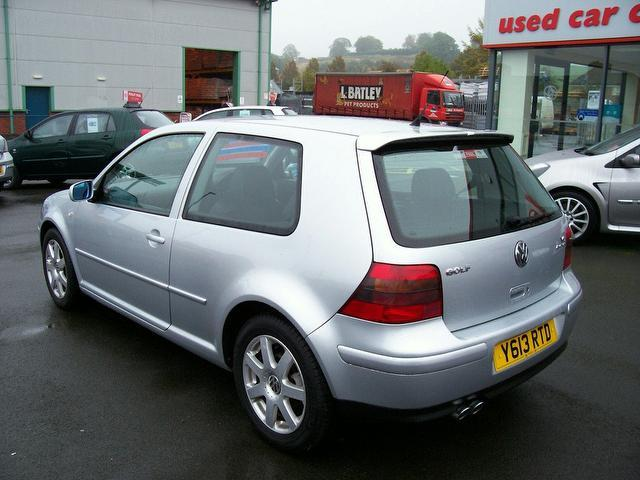 used 2001 volkswagen golf hatchback silver edition 2 8 v6 4motion 3dr petrol for sale in. Black Bedroom Furniture Sets. Home Design Ideas