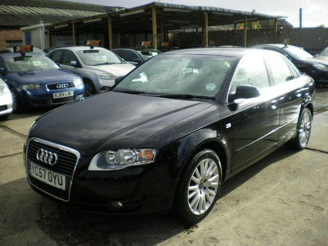 Used Audi A4 2007 Black Colour Diesel 1 9 Tdi Tdv Se
