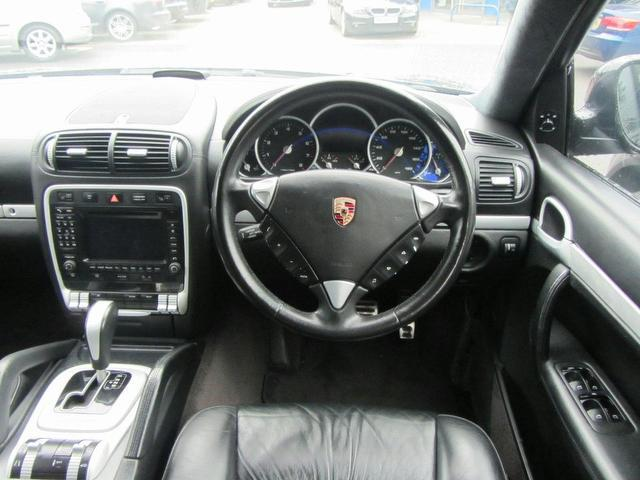 Used Porsche Cayenne 4.5 Turbo 5 Door Tiptronic 4x4 Black 2004 Petrol for Sale in UK