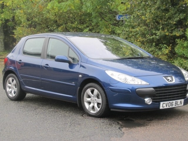 used peugeot 307 2006 petrol blue with for sale autopazar. Black Bedroom Furniture Sets. Home Design Ideas