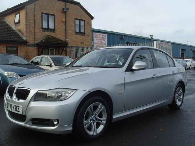 used silver bmw 3 series 2010 diesel 316d es 4dr saloon in. Black Bedroom Furniture Sets. Home Design Ideas