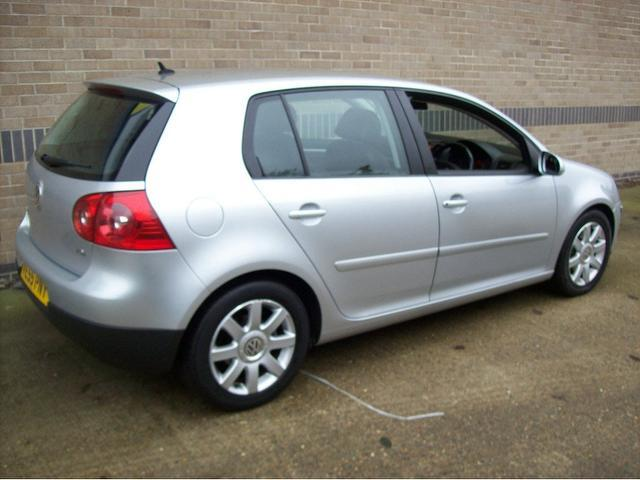 used volkswagen golf 2005 diesel 1 9 sport tdi 5dr hatchback silver edition for sale in norwich. Black Bedroom Furniture Sets. Home Design Ideas