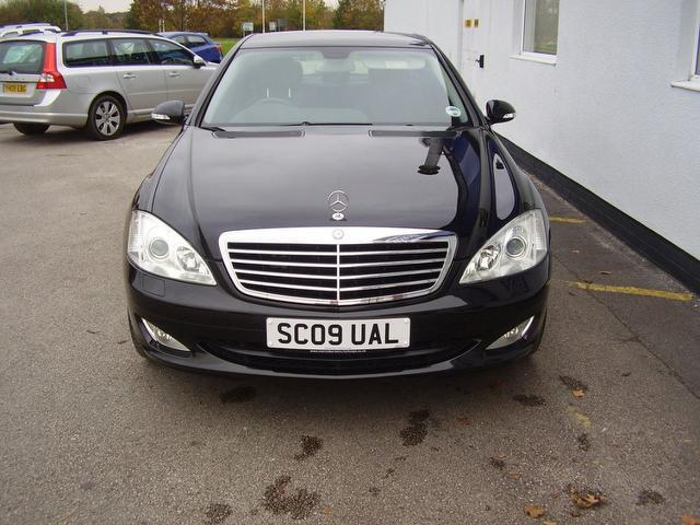 Used Mercedes Benz 2009 Black Paint Diesel Class S320 Cdi 4dr Saloon