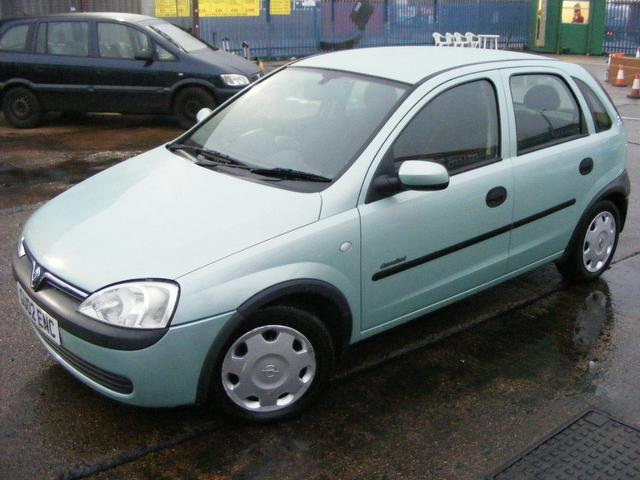 used vauxhall corsa 2002 automatic petrol 16v comfort 5 door green for sale uk autopazar. Black Bedroom Furniture Sets. Home Design Ideas