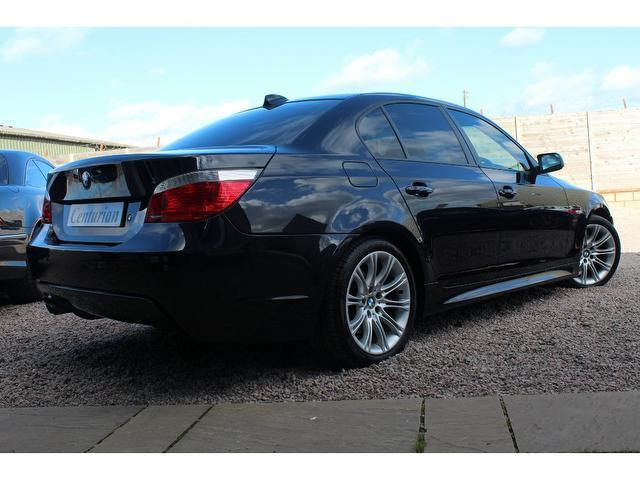 used bmw 5 series 2005 black paint diesel 530d m sport. Black Bedroom Furniture Sets. Home Design Ideas