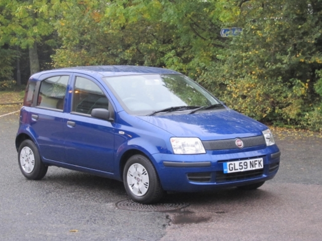 used fiat panda 2009 petrol blue edition for sale in epsom uk autopazar. Black Bedroom Furniture Sets. Home Design Ideas