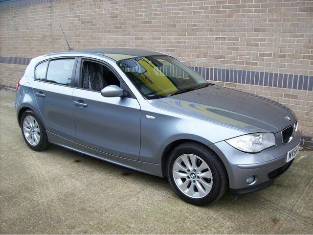 used bmw 1 series 2006 petrol 116i se 1 6 hatchback blue with electric mirrors for sale autopazar. Black Bedroom Furniture Sets. Home Design Ideas