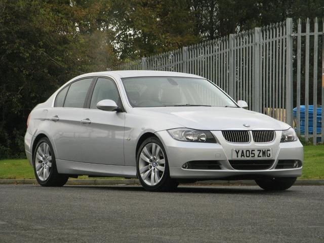 used bmw 3 series 2005 silver paint petrol 325i se 4dr saloon for sale in turrif uk autopazar. Black Bedroom Furniture Sets. Home Design Ideas