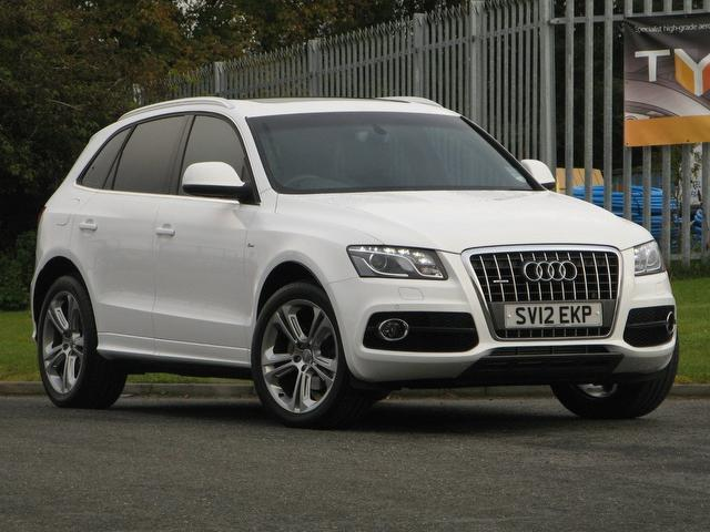 used white audi q5 2012 diesel 2 0 tdi quattro s 4x4 in great condition for sale autopazar. Black Bedroom Furniture Sets. Home Design Ideas