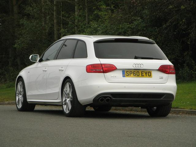 used audi a4 2011 white paint diesel 2.0 tdi 170 s estate for sale