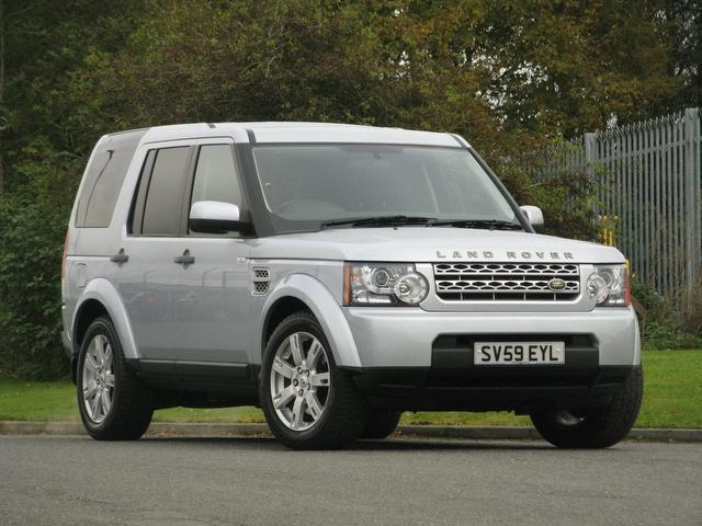 used land rover discovery 2009 automatic diesel 3 0 tdv6 gs silver for sale uk autopazar. Black Bedroom Furniture Sets. Home Design Ideas
