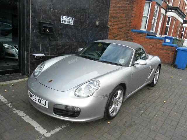 used 2005 porsche boxster convertible 2 7 2dr petrol for sale in stockport uk autopazar. Black Bedroom Furniture Sets. Home Design Ideas