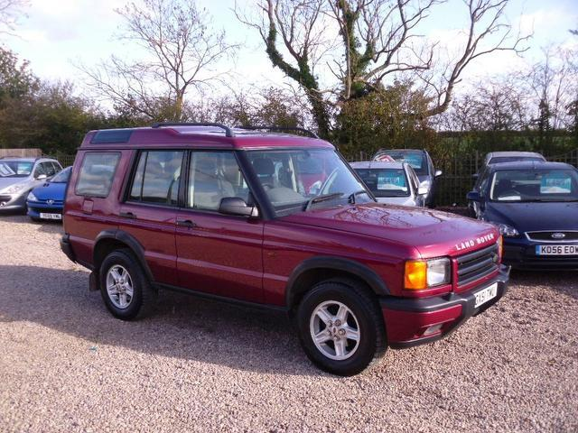 used land rover discovery car 2001 red diesel 2 5 td5 gs 4x4 for rh autopazar co uk 2001 land rover discovery workshop manual pdf 2001 land rover discovery td5 workshop manual free download