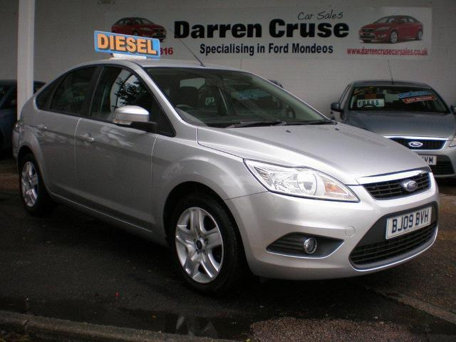 used ford focus 2009 diesel 1 6 tdci style 5dr hatchback silver for sale in gravesend uk autopazar. Black Bedroom Furniture Sets. Home Design Ideas