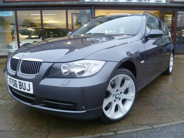 used bmw 3 series 2006 diesel 330d se 5dr estate grey edition for sale in penzance uk autopazar. Black Bedroom Furniture Sets. Home Design Ideas