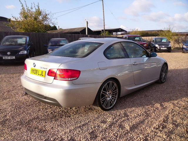 Used bmw 3 series 2008 silver colour diesel 320d m sport - Bmw 3 series m sport coupe ...
