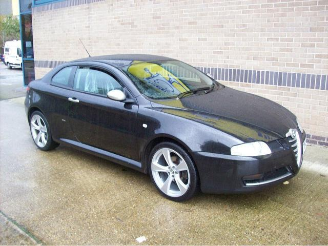 Used alfa romeo gt 2007 manual diesel 1 9 jtdm black for sale uk autopazar - Alfa romeo coupe for sale ...