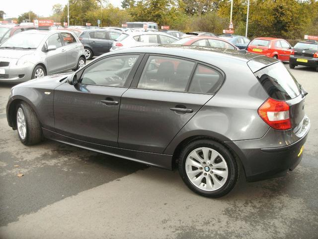 used bmw 1 series 2006 diesel 118d se 5dr hatchback grey. Black Bedroom Furniture Sets. Home Design Ideas