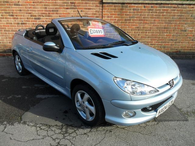 used peugeot 206 convertible for sale uk - autopazar