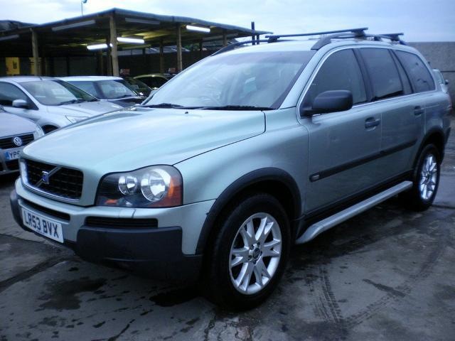used volvo xc90 car 2003 green petrol 2 9 t6 se 5 door 4x4 for sale in wembley uk autopazar. Black Bedroom Furniture Sets. Home Design Ideas