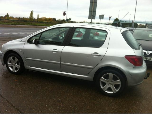used peugeot 307 2002 diesel 2 0 hdi 110 rapier hatchback silver edition for sale in ashford uk. Black Bedroom Furniture Sets. Home Design Ideas