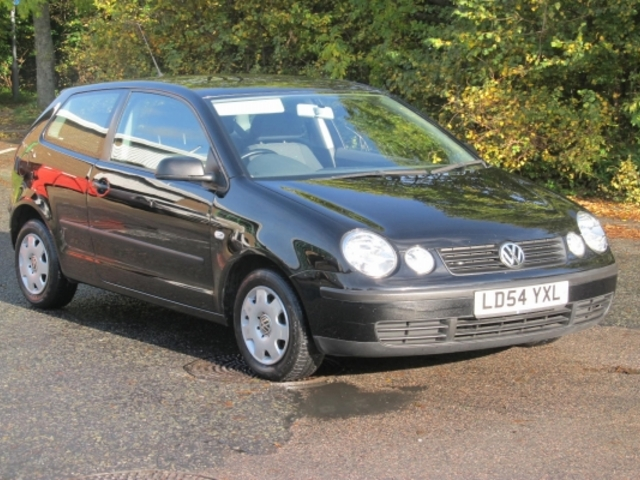 used volkswagen polo 2004 manual unleaded hatch black for sale uk autopazar. Black Bedroom Furniture Sets. Home Design Ideas