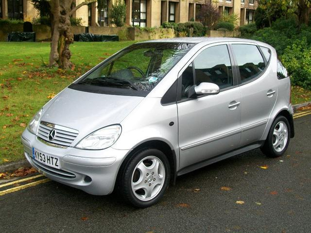 used 2003 mercedes benz hatchback class a160 avantgarde 5dr petrol for sale in keynsham uk. Black Bedroom Furniture Sets. Home Design Ideas