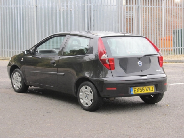 used 2006 fiat punto black edition petrol for sale in. Black Bedroom Furniture Sets. Home Design Ideas