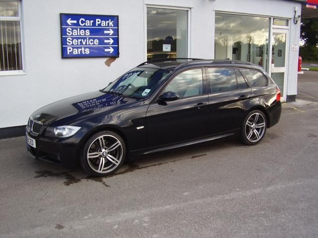 used bmw 3 series car 2006 black diesel 330d m sport estate for sale in wirral uk autopazar. Black Bedroom Furniture Sets. Home Design Ideas