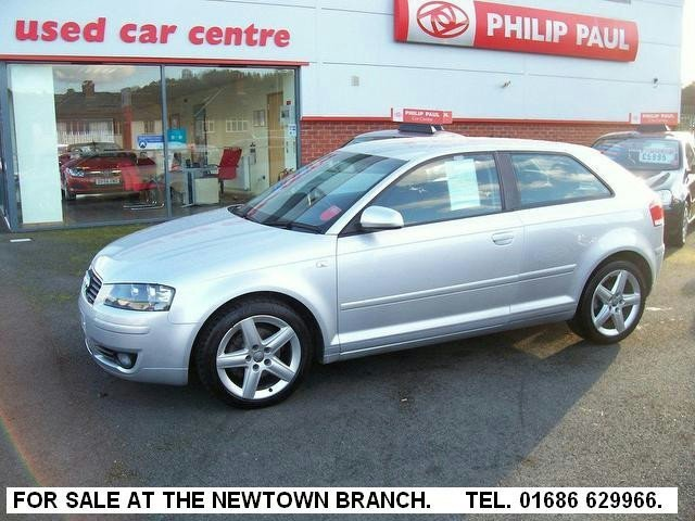 used audi a3 2003 model 2 0 tdi sport 3dr diesel hatchback silver for sale in oswestry uk. Black Bedroom Furniture Sets. Home Design Ideas