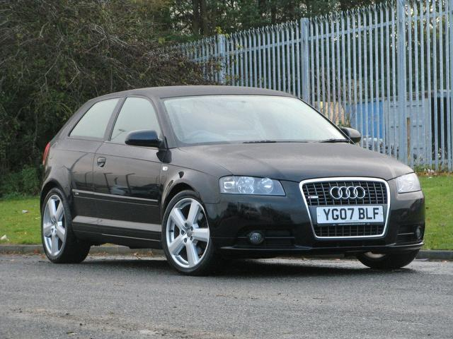 used audi a3 2007 petrol 2 0 t fsi quattro hatchback black edition for sale in turrif uk autopazar. Black Bedroom Furniture Sets. Home Design Ideas