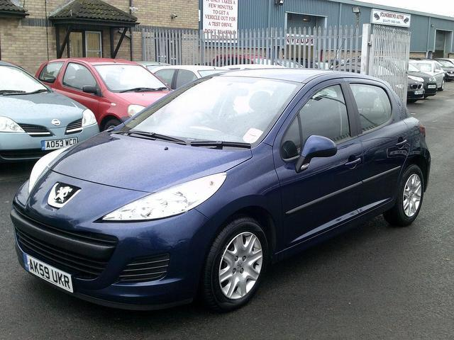 used peugeot 207 2009 diesel 1 4 hdi s 5dr hatchback blue edition for sale in fengate uk autopazar. Black Bedroom Furniture Sets. Home Design Ideas