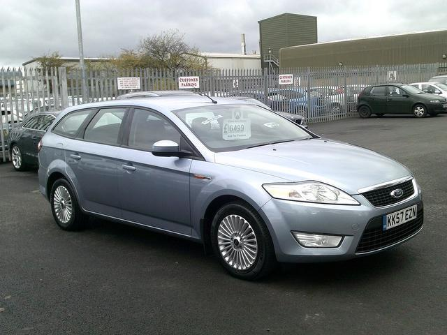 used ford mondeo 2008 blue colour diesel 1 8 tdci zetec 5 door estate for sale in fengate uk. Black Bedroom Furniture Sets. Home Design Ideas