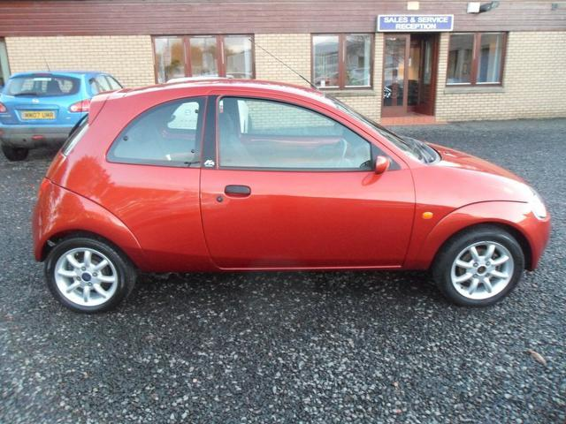 used red ford ka 2008 petrol zetec 70 3dr hatchback in great condition for sale autopazar. Black Bedroom Furniture Sets. Home Design Ideas