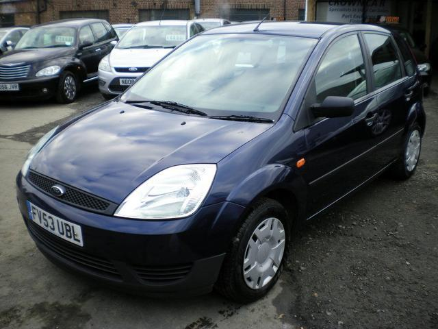 used 2003 ford fiesta hatchback blue edition lx 5dr ac petrol for sale in wembley uk. Black Bedroom Furniture Sets. Home Design Ideas