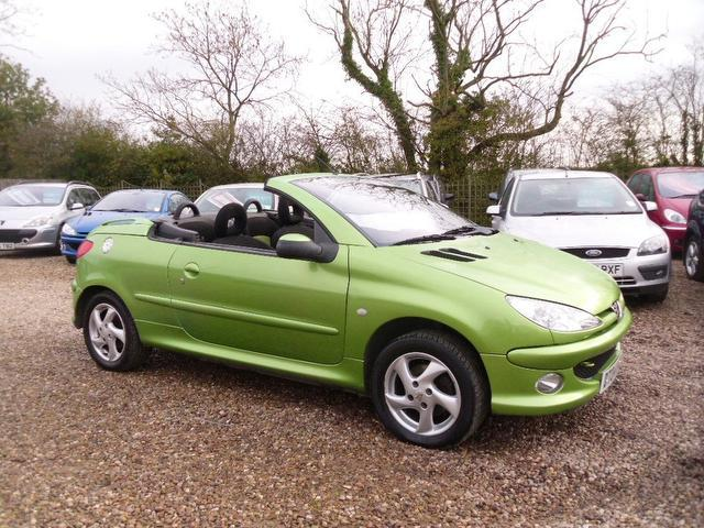 used peugeot 206 convertible for sale uk autopazar. Black Bedroom Furniture Sets. Home Design Ideas