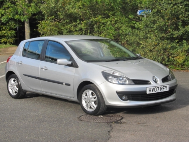 used renault clio 2007 petrol silver with for sale autopazar. Black Bedroom Furniture Sets. Home Design Ideas